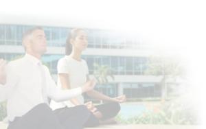 Fond yoga clair